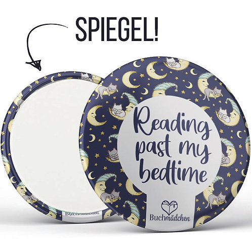 Spiegelbutton  »Reading past my bedtime«
