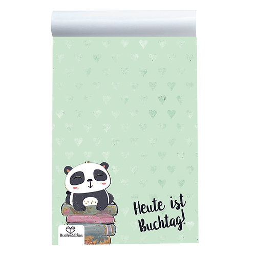 Schreibblock »Panda«