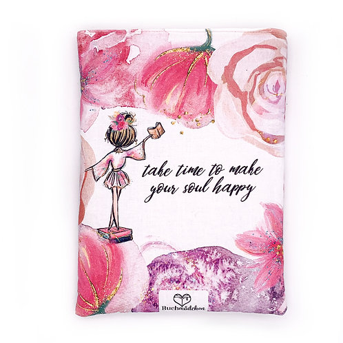 Buchtasche »Take time to make your soul happy«