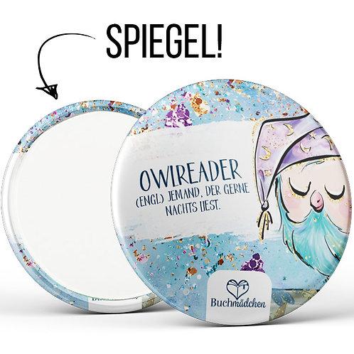 Spiegelbutton »Owlreader«