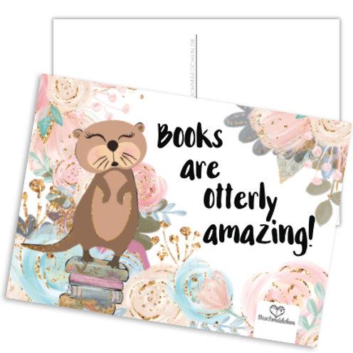 Postkarte »Otterly Amazing«