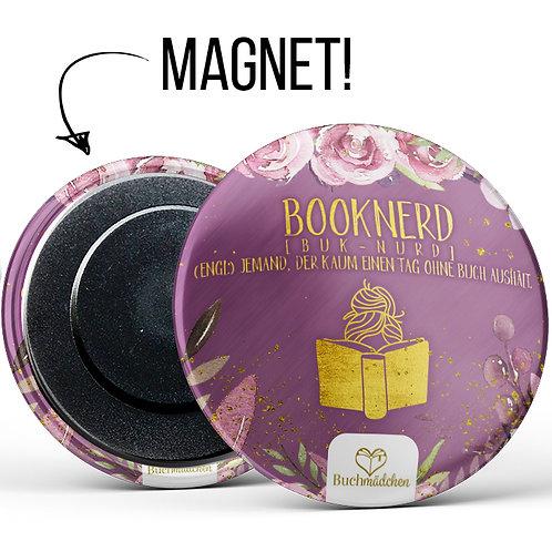 Magnetbutton »Booknerd«