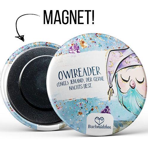 Magnetbutton »Owlreader«