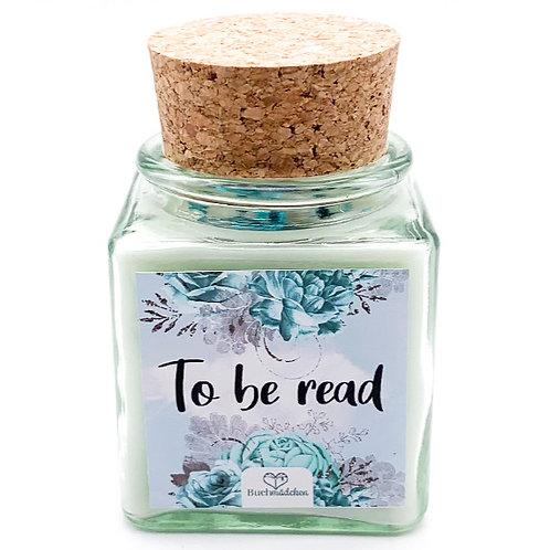 Specialkerze mit Korken »To be read«