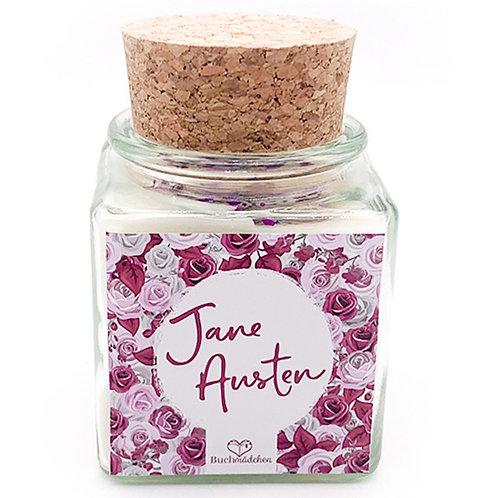 Specialkerze mit Korken »Jane Austen«
