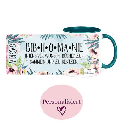 [Personalisiert] Tasse »Bibliomanie«