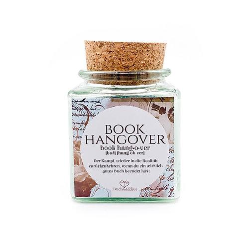 Specialkerze mit Korken »Book Hangover« [Glitter Edition]