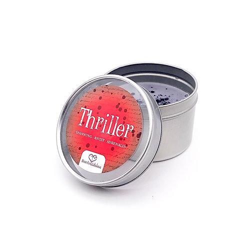 Kerze in Dose »Thriller«