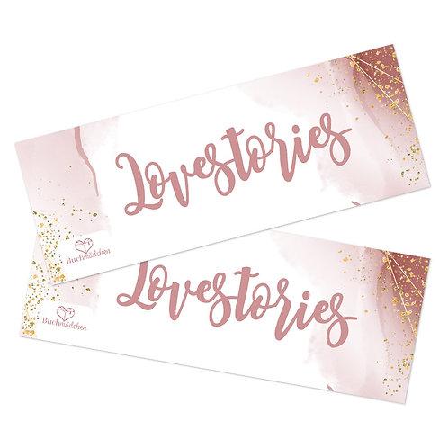 Lesezeichen »Lovestories«