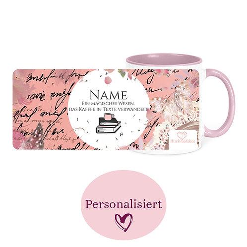 [Personalisiert] Tasse »Kaffee Writer«