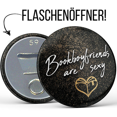 Flaschenöffner »Bookboyfriends are sexy«