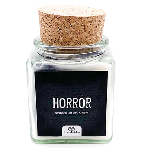 Specialkerze mit Korken »Horror«