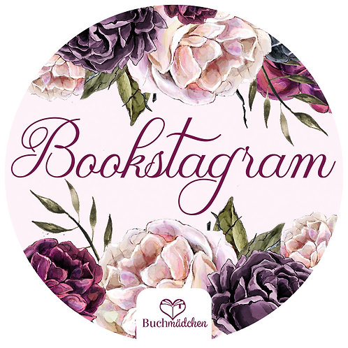 Aufkleber »Bookstagram«