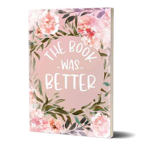 Notizbuch »The Book Was Better«