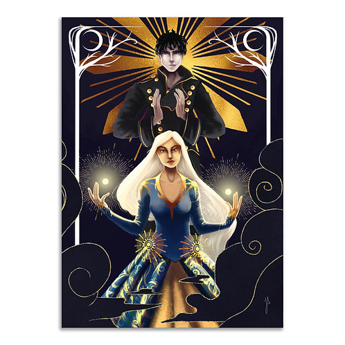 A5 Print »Alina & Darkling«