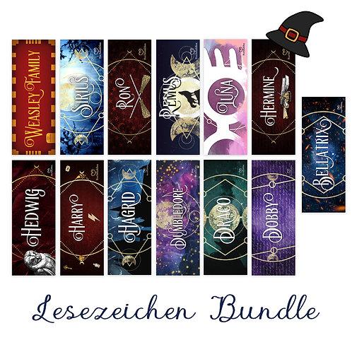 Lesezeichen Bundle Wizarding World