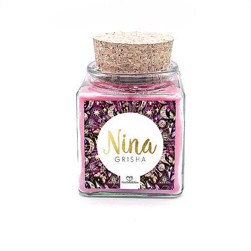 Specialkerze mit Korken »Nina«