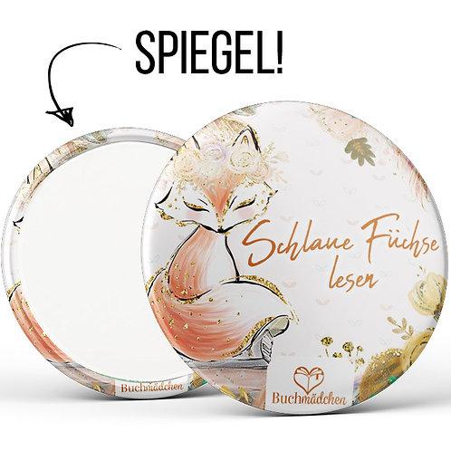 Spiegelbutton »Schlaue Füchse lesen«