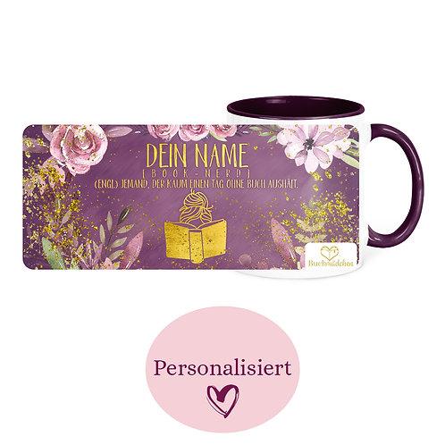 [Personalisiert] Tasse »Booknerd«