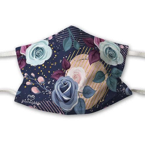 Mundnasenschutz Cozy Days + GRATIS pinker FFP2 Maske