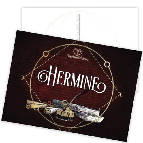 Postkarte »Hermine«