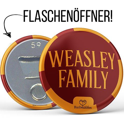 Flaschenöffner »Weasley Family«