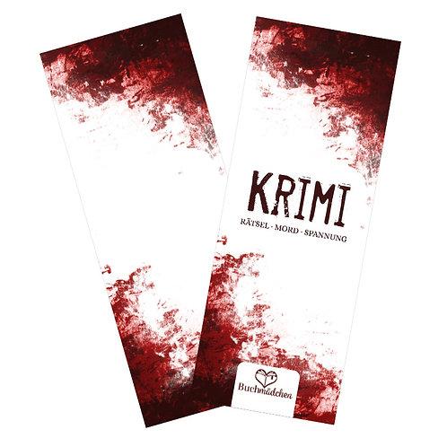 Lesezeichen »Krimi«