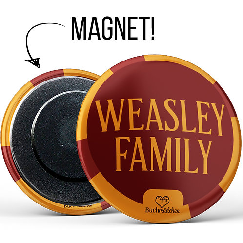 Magnetbutton »Weasley Family«