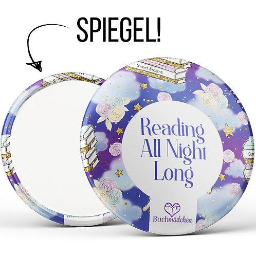 Spiegelbutton  »Reading all night long«