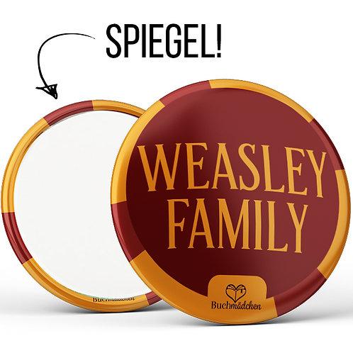 Spiegelbutton »Weasley Family«