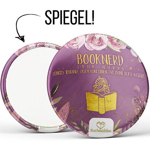 Spiegelbutton »Booknerd«