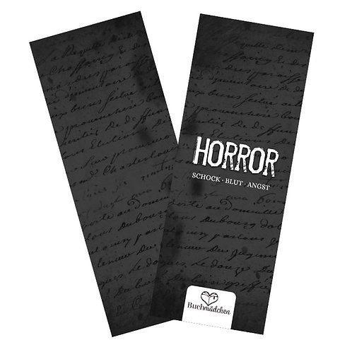 Lesezeichen »Horror«