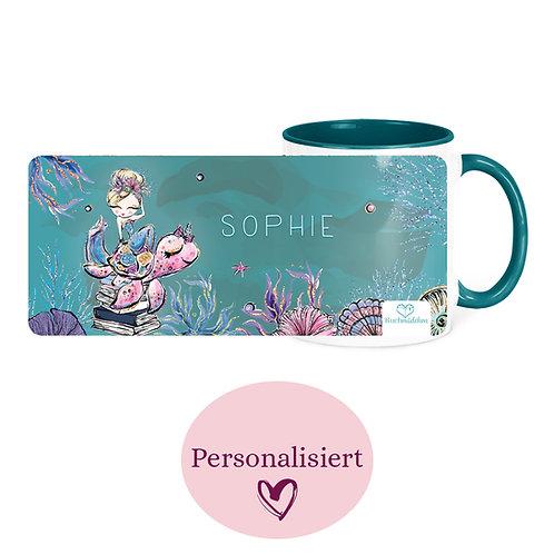 [Personalisiert] Tasse »Mermaid«