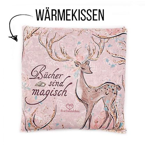 Wärmekissen »Bücher sind magisch«
