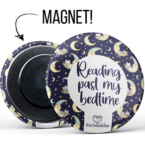 Magnetbutton »Reading past my bedtime«