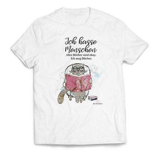 Shirt »Ich hasse Menschen«