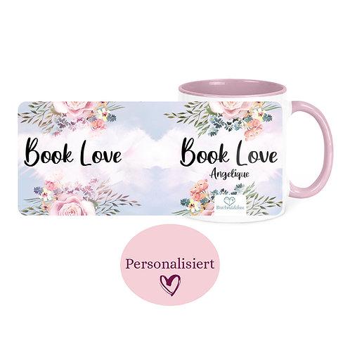 [Personalisiert] Tasse »Book Love«