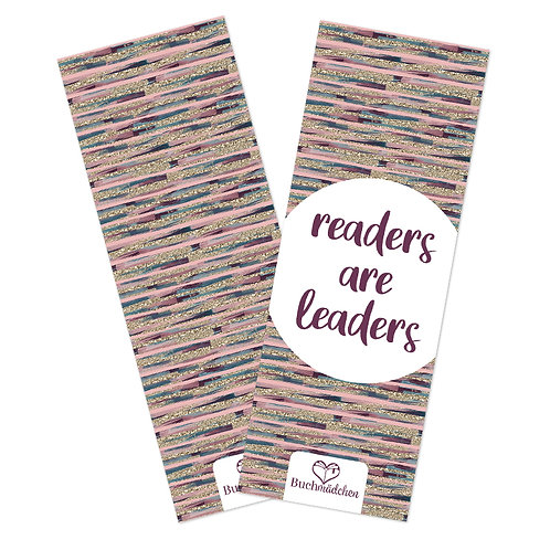 Lesezeichen »Readers are leaders«