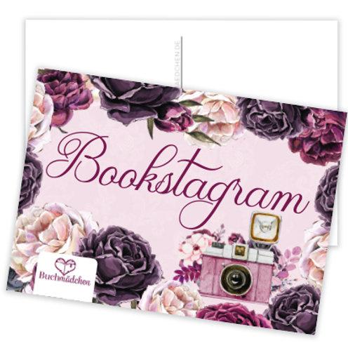 Postkarte »Bookstagram«