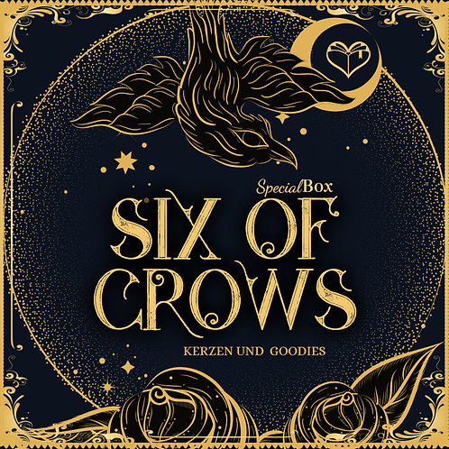 [Vorbestellung] Special-Box »Six of Crows« [Juni]