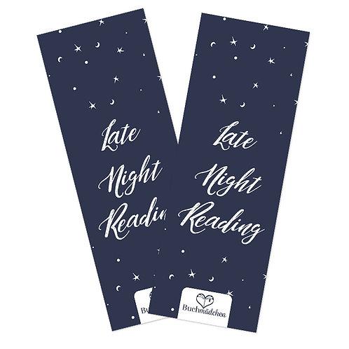 Lesezeichen »Late Night Reading«