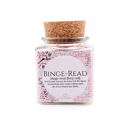 Specialkerze mit Korken »Binge-Read« [Glitter Edition]