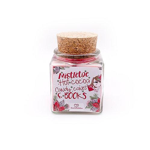 Specialkerze mit Korken »Mistletoe«