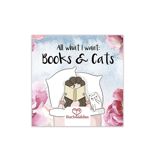 Magnetfolie »Cats & Books«
