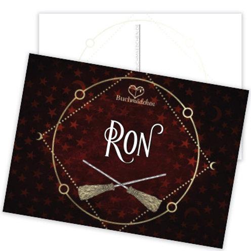 Postkarte »Ron«