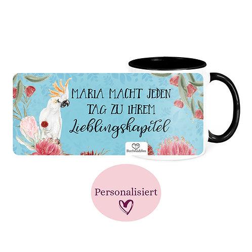 [Personalisiert] Tasse »Kakadu«