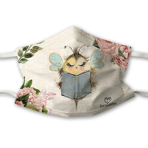 Mundnasenschutz Bee Happy + Gratis rosa FFP2 Maske