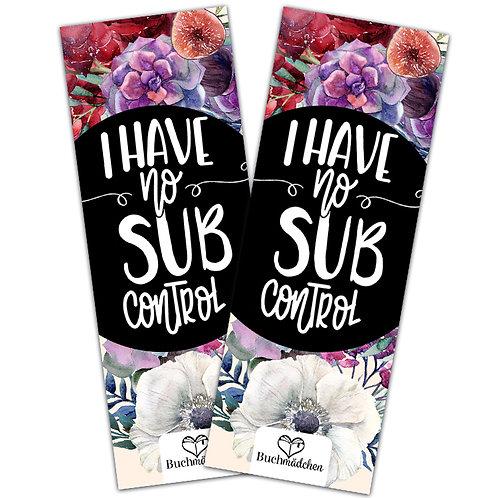 Lesezeichen »Sub Control«