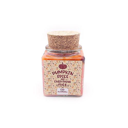 Specialkerze mit Korken »Pumpkin Spice«