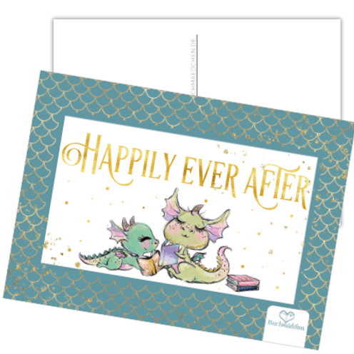 Postkarte »Happily Ever After«